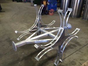 Stainless Steel Welding - Tank Holders
