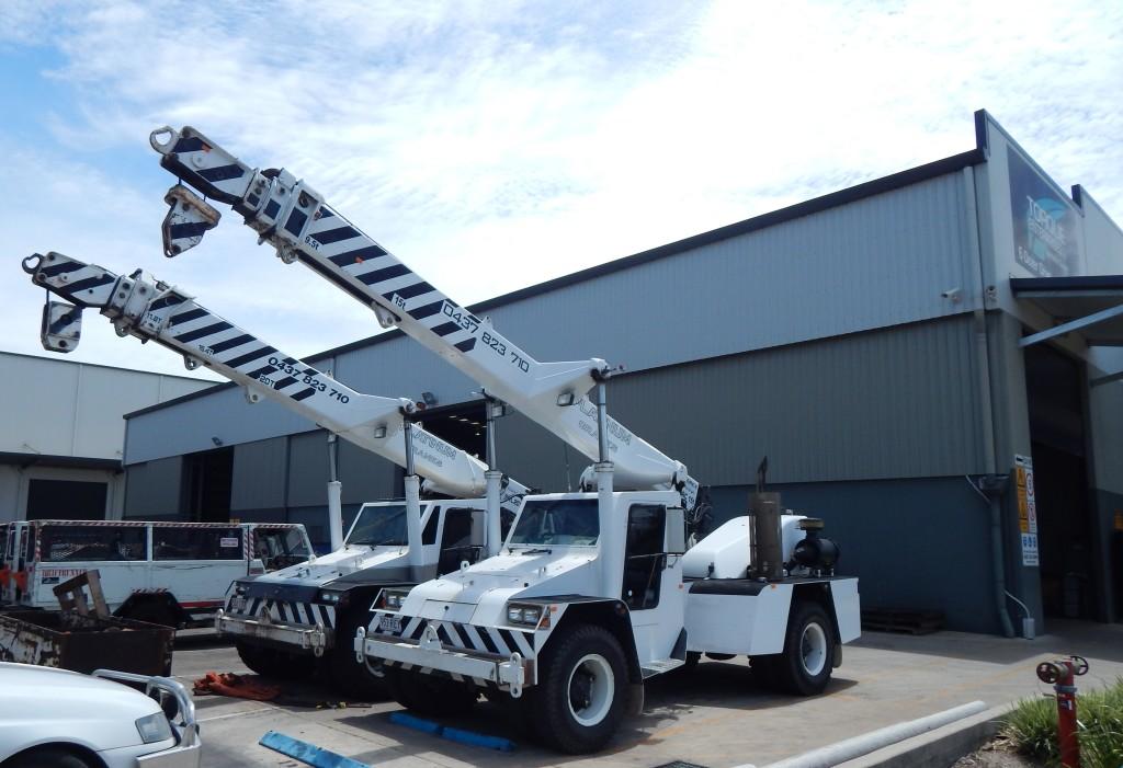 crane hire mackay