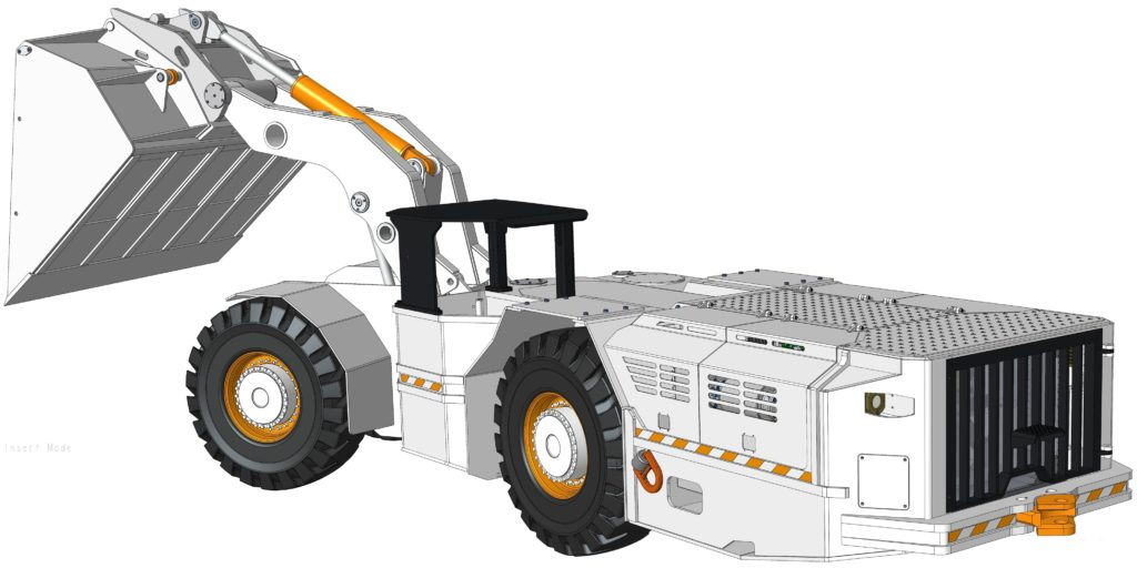 TE UG Loader Rear DS View